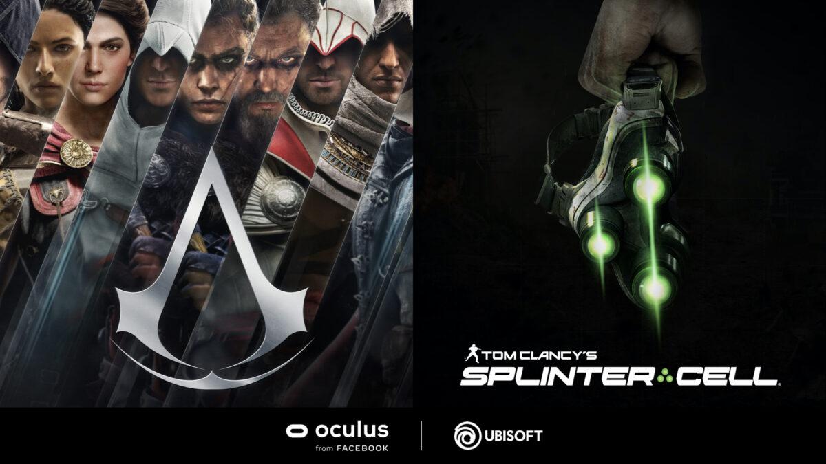 Ubisoft, Oculus Ortaklığıyla Assassin's Creed ve Tom Clancy's Splinter Cell VR Oyunlarını Duyurdu