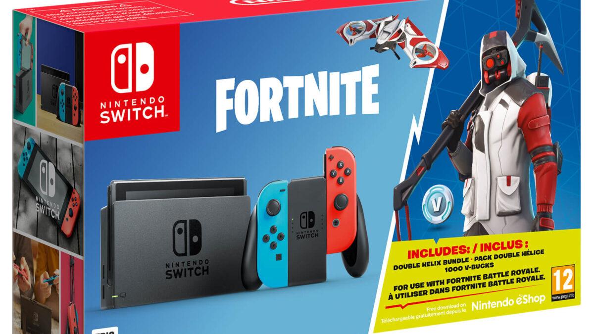 Nintendo Switch Fortnite Special Edition Konsol Paketi 30 Ekim'de Avrupa'da Satışa Çıkıyor
