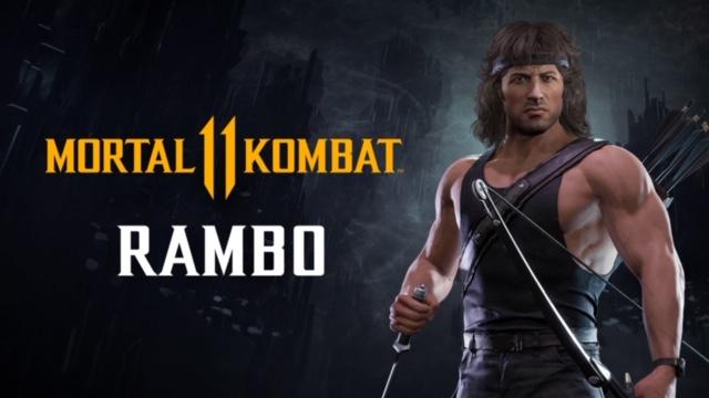 Rambo'nun Bulunduğu Yeni Bir Mortal Kombat 11 Ultimate Oynanış Fragmanı Yayınladı.
