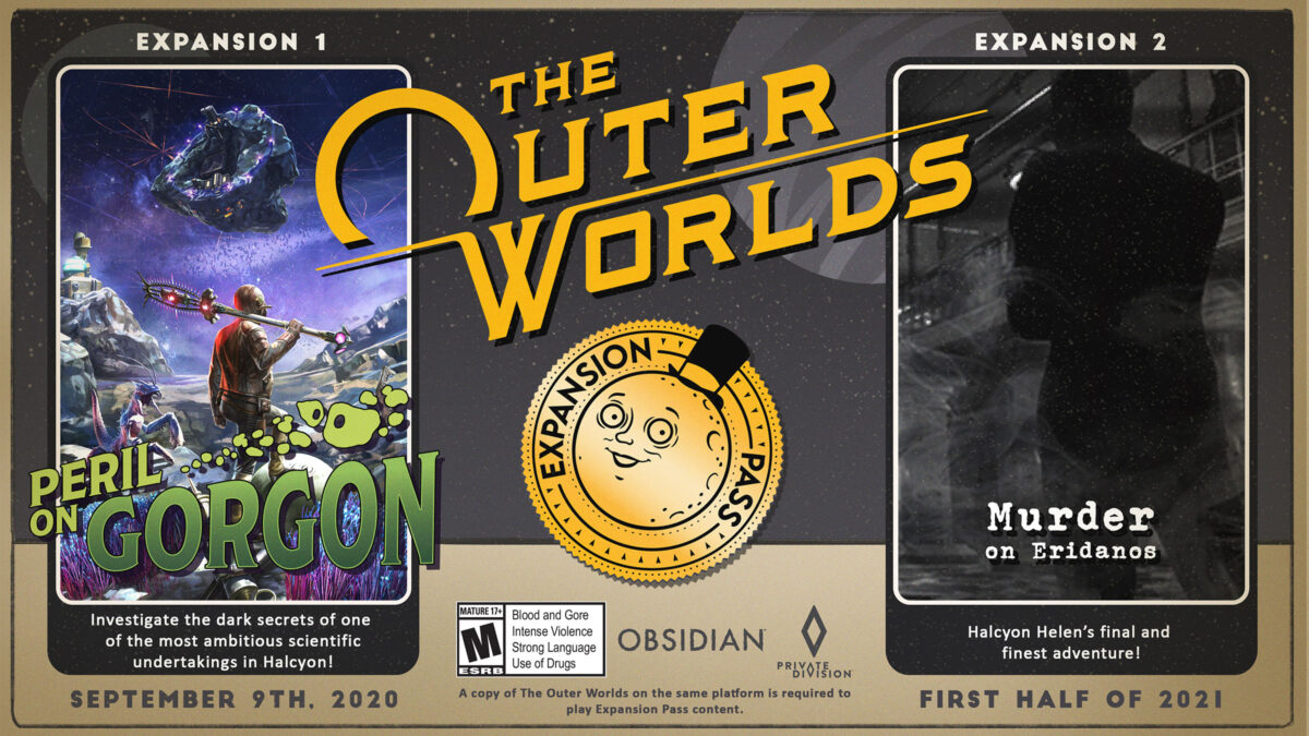 The Outer Worlds ve The Outer Worlds: Peril on Gorgon Artık Steam'de!