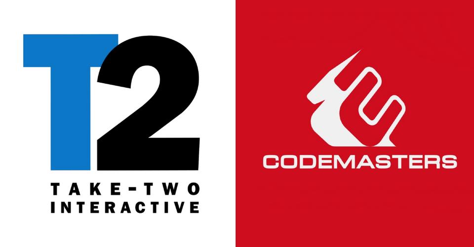 Take-Two Interactive, Codemasters'ı Satın Aldı.
