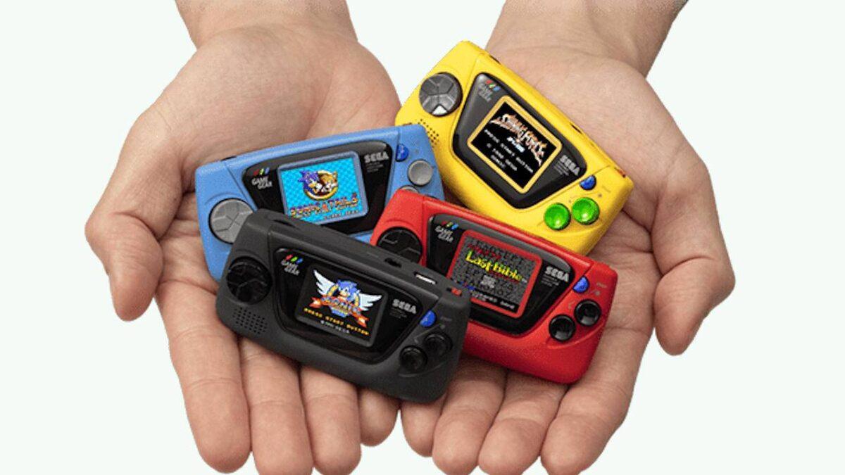 Sega'dan 60.Yıla Özel Game Gear Micro
