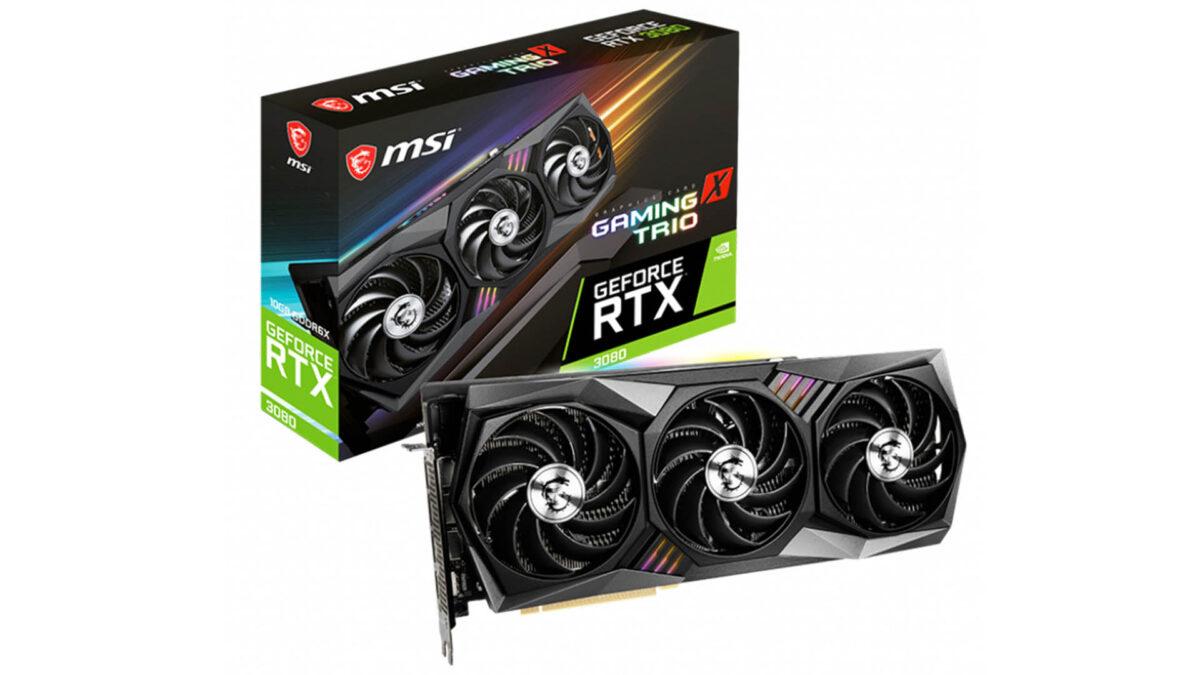 MSI, GeForce RTX 3080 Kapasitör Tasarımı Değişikliği Yapmıyor