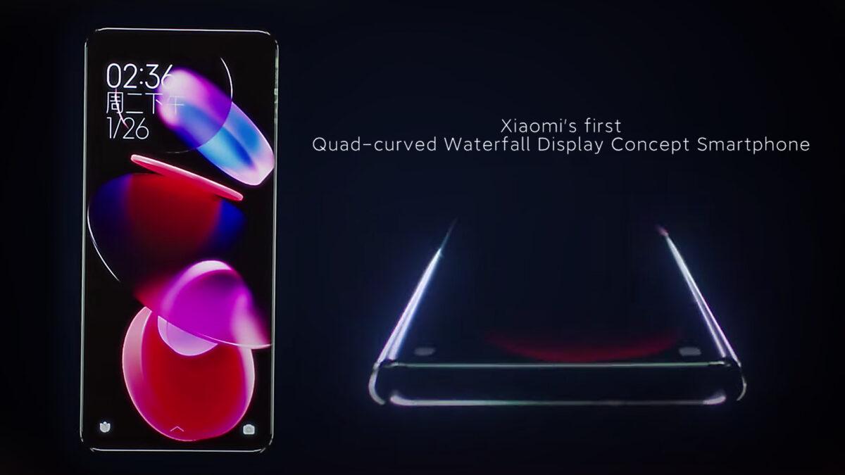 Xiaomi'nin Dört Kenarı Kavisli Ekranlı Telefonları Gelecek