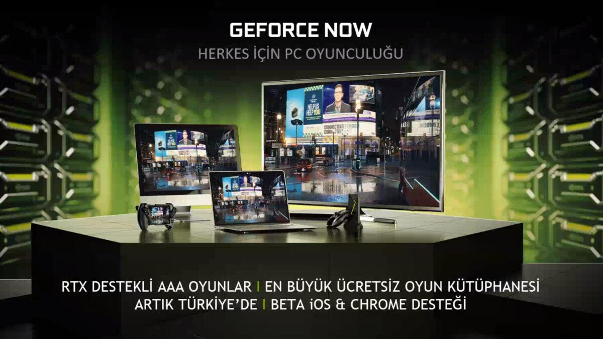 GeForce NOW Türkiye Beta Başladı