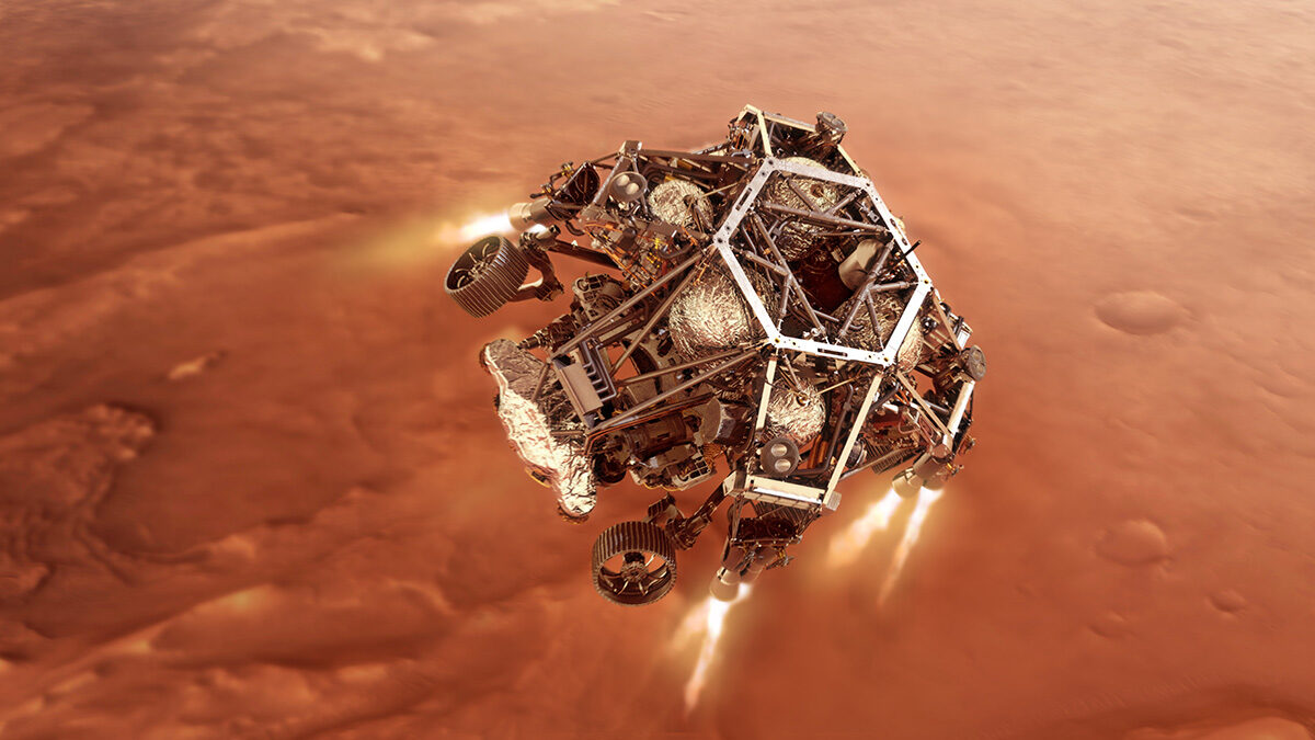 NASA'nın Perseverance Rover'ı Mars'a Başarıyla İndi