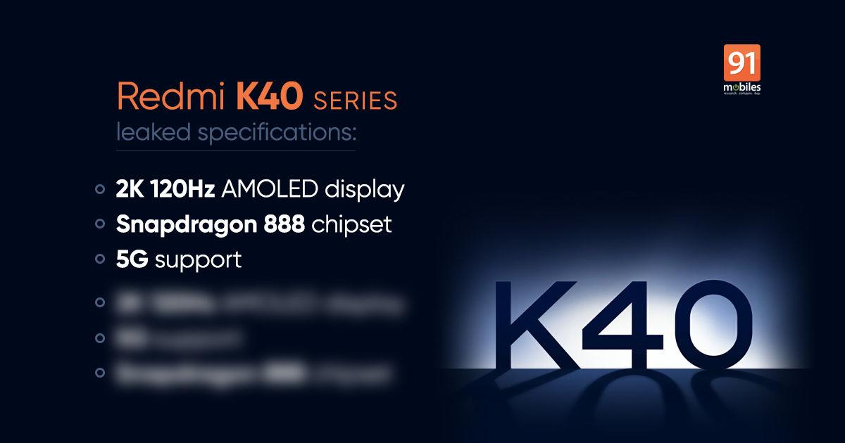 Redmi K40 Pro ve Redmi K40 Teknik Özellikleri Sızdırıldı
