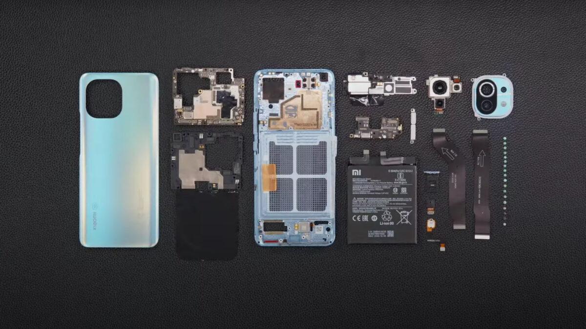 Xiaomi Mi 11 Vidasına Kadar Söküldü