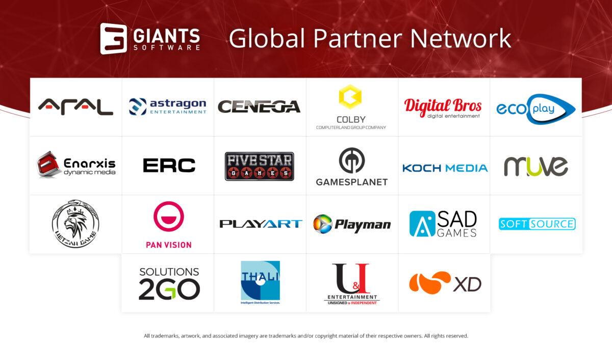 Yayıncı GIANTS Software, Global Ortaklık Ağını Başlattığını Duyurdu