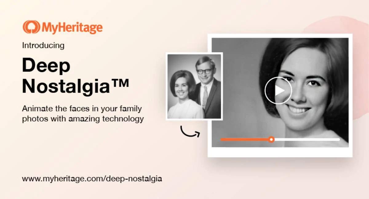 MyHeritage DeepNostalgia Nasıl Kullanılır