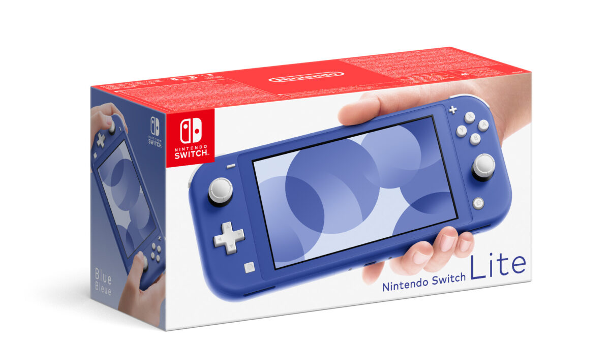 Mavi Nintendo Switch Lite 7 Mayıs'ta Avrupada