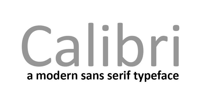 Microsoft Office'in varsayılan fontu değişiyor