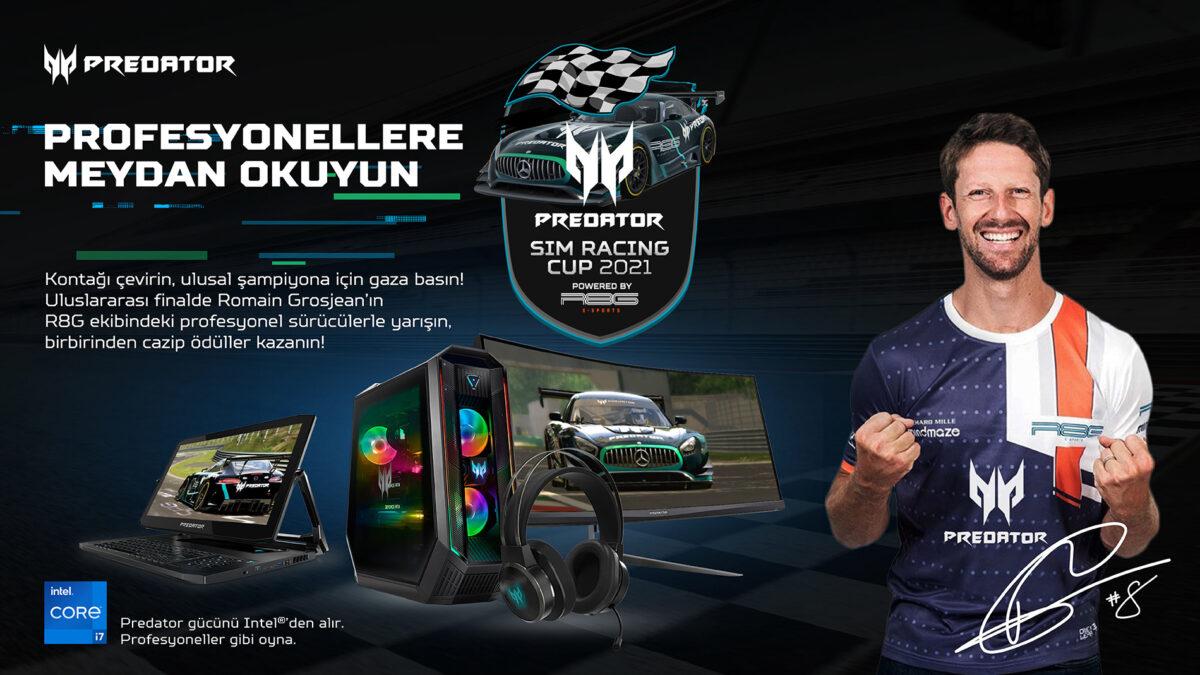Acer, Toplamda 50 Bin Dolar Ödül Dağıtılacak Predator Sim Racing Cup 2021'i Başlatıyor