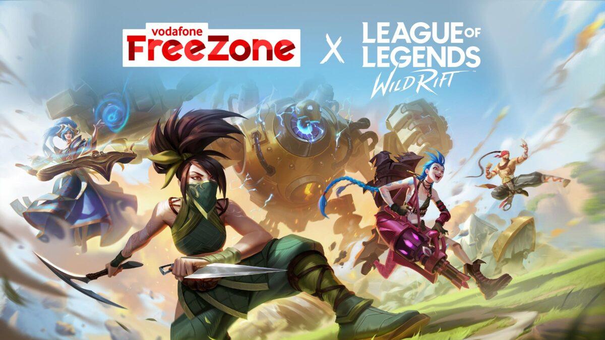 Vodafone ve Riot Games'ten Türkiye'nin İlk 5G Wild Rift Mobil Turnuvası
