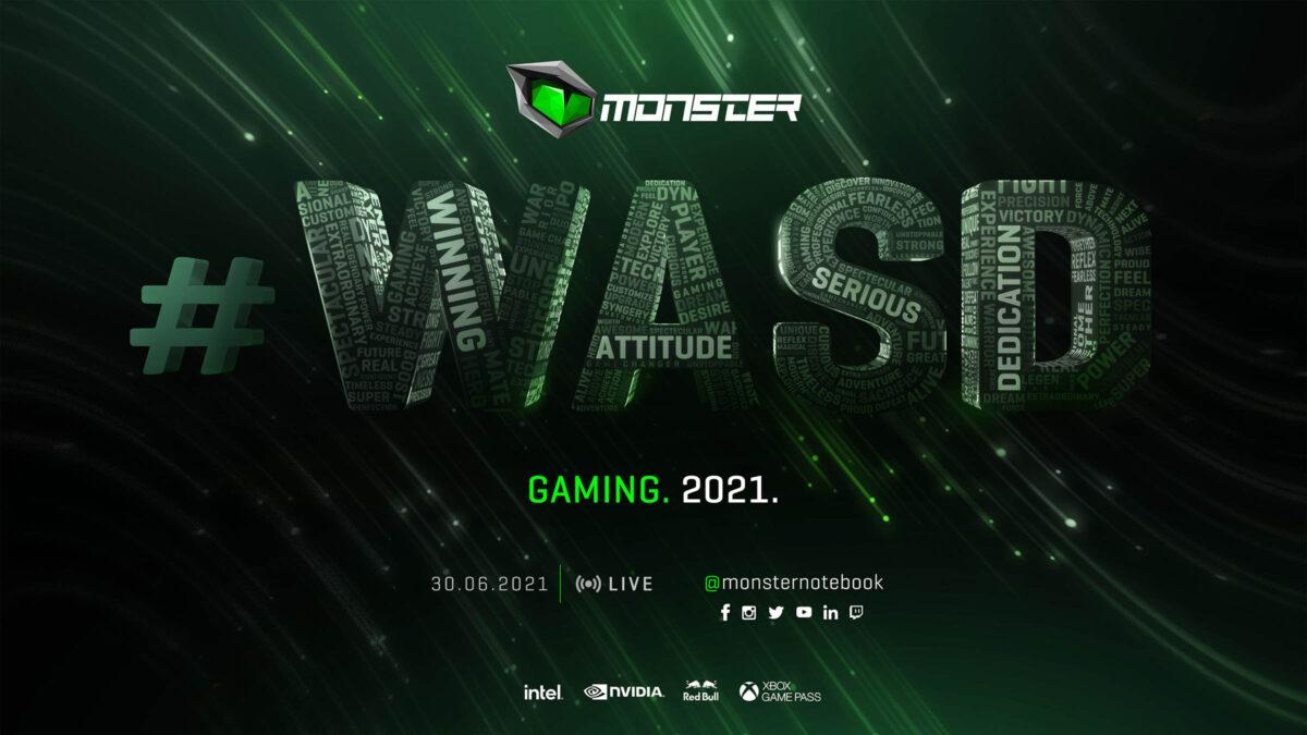 Yılın En Büyük Online etkinliği Monster #WASD İçin Geri Sayım Başladı