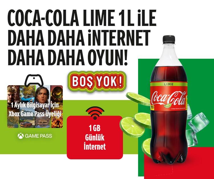 Coca Cola 1 Aylık Xbox Game Pass Hediye Ediyor