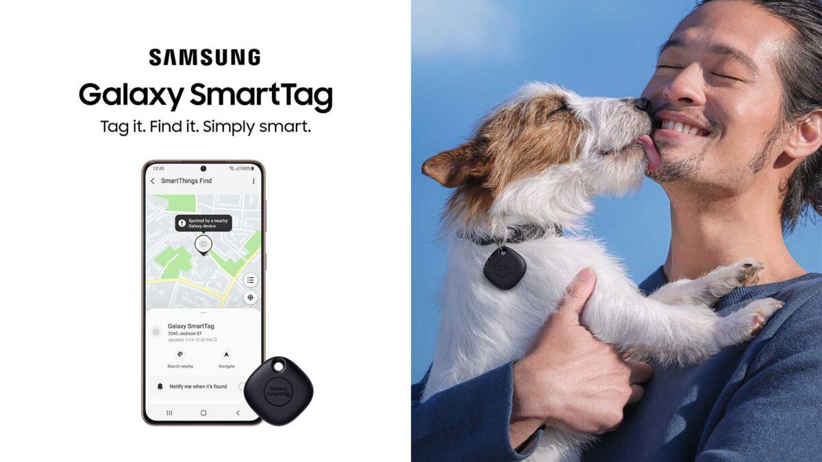 Galaxy SmartTag Tüylü Dostlarınızı Bulmayı Kolaylaştırıyor