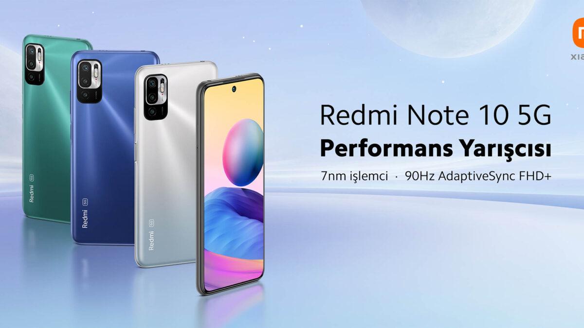 Redmi Note 10 5G Satışa Çıktı! İşte detaylar