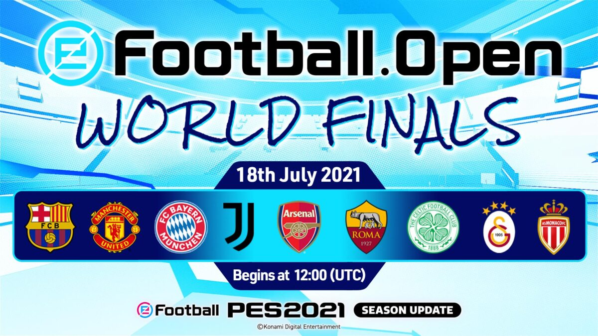 eFootball.Open Dünya Finallerinin Şampiyonu Hafta Sonu Belli Olacak