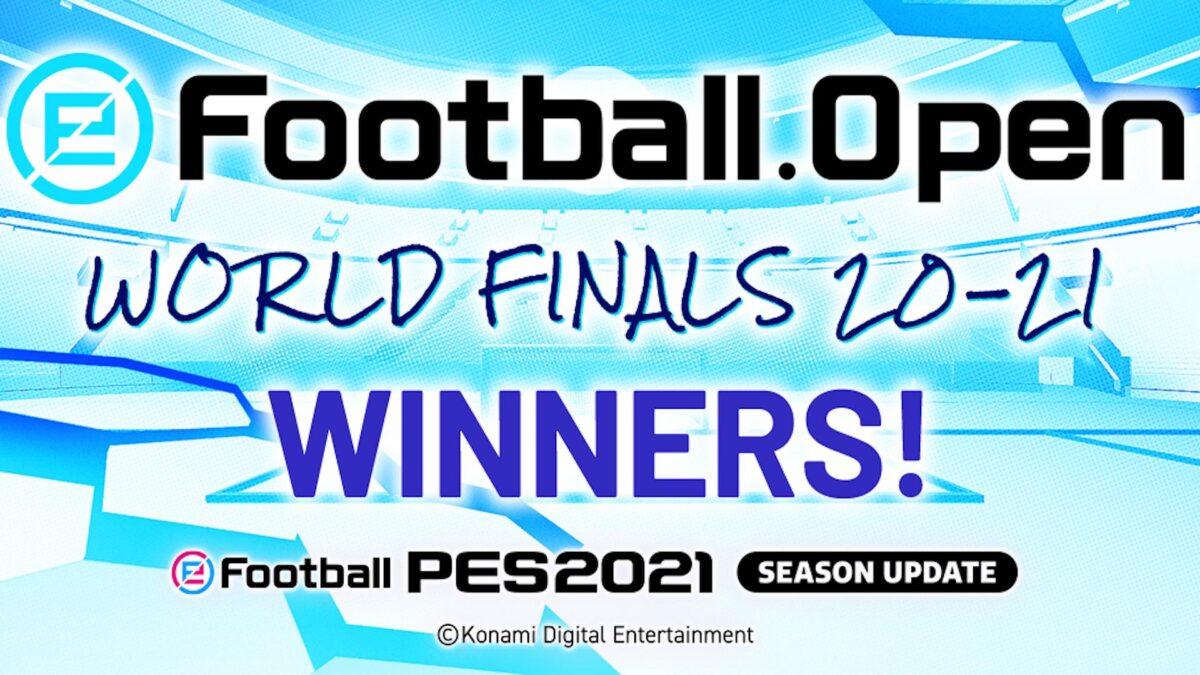 eFootball.Open Dünya Şampiyonası Kazananları Belli Oldu