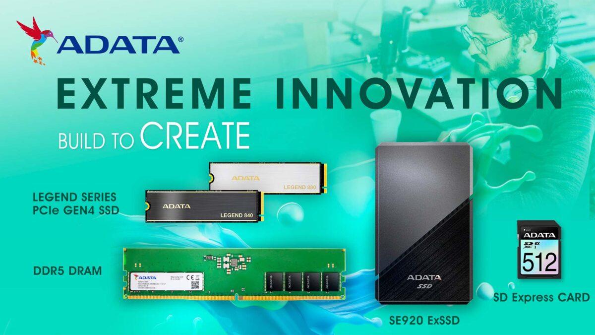 ADATA Xtreme Innovation Etkinliği Yapıldı. İşte Yeni ADATA Ürünleri