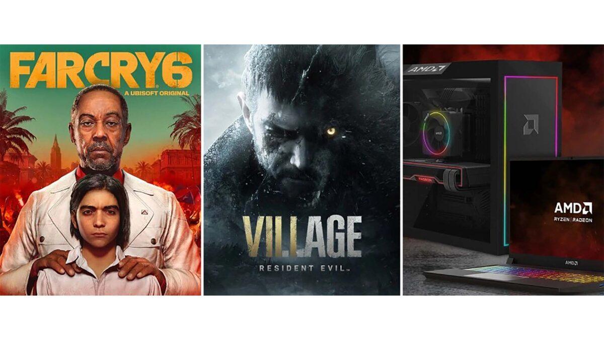 AMD, Herkese Far Cry 6 ve Resident Evil Village Hediye Ediyor