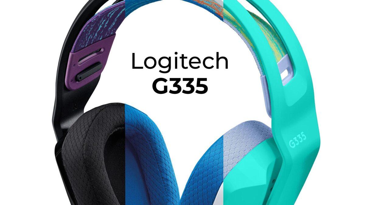Logitech G'nin En Hafif Oyuncu Kulaklığı G335 Türkiye'de Satışa Sunuldu!
