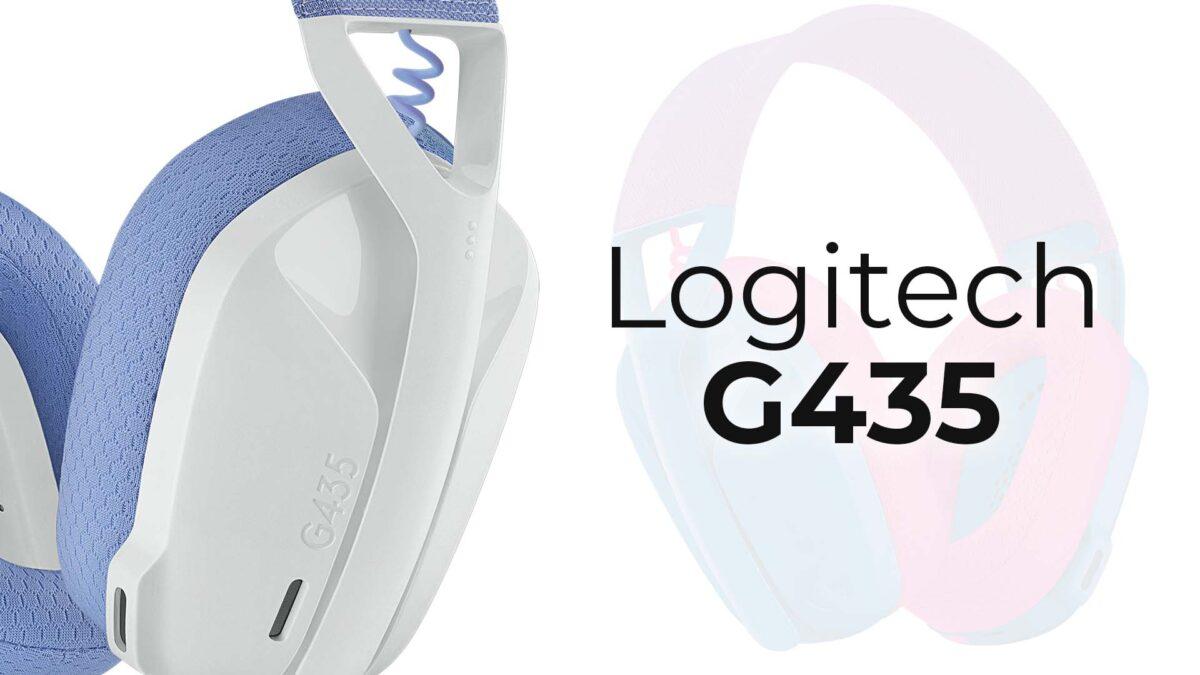Logitech G'nin En Hafif Kablosuz Oyuncu Kulaklığı G435 Ekim'de Türkiye'de Satışa Çıkıyor